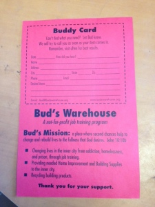 Buddy Card