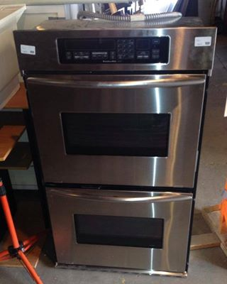 Budu0027s Warehouse Just Received A Nice Kitchenaid Double Ovenu2026 Only $500!