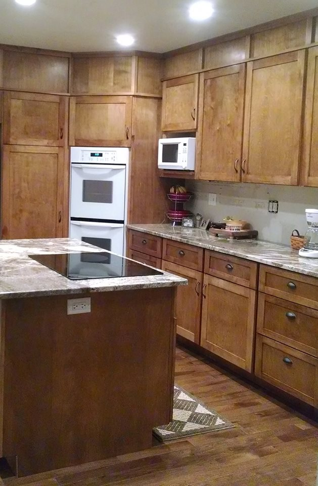 New beginnings custom woodworks high quality cabinets at for Kitchen cabinets outlet