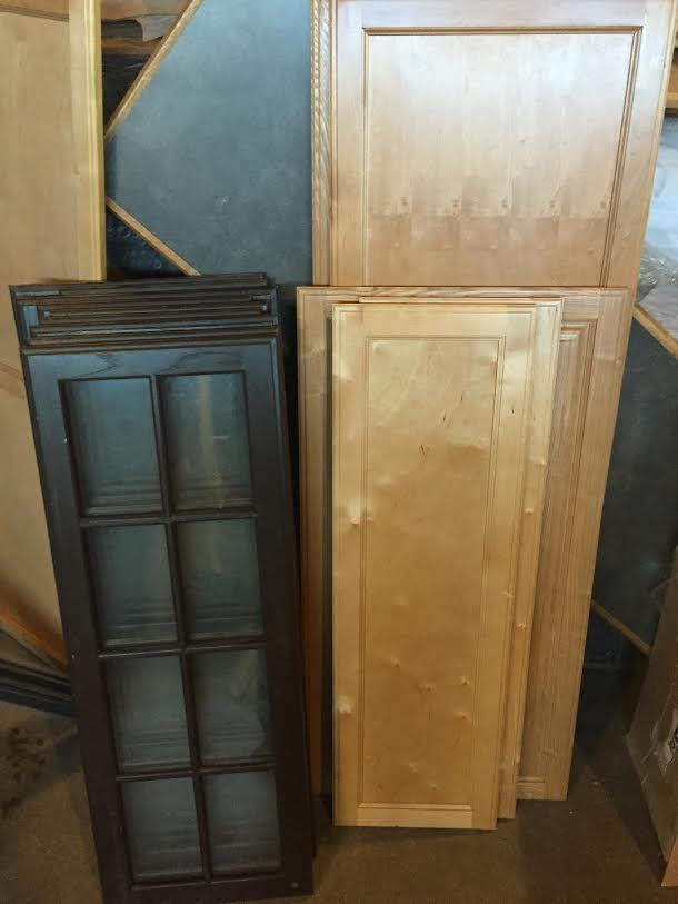 All stained cabinet doors 50 off bud s warehouse for 50 off kitchen cabinets
