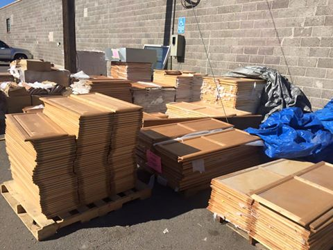 itu0027s been a while since we posted this but you can still get any cabinet door or drawer for only 1 at budu0027s warehouse