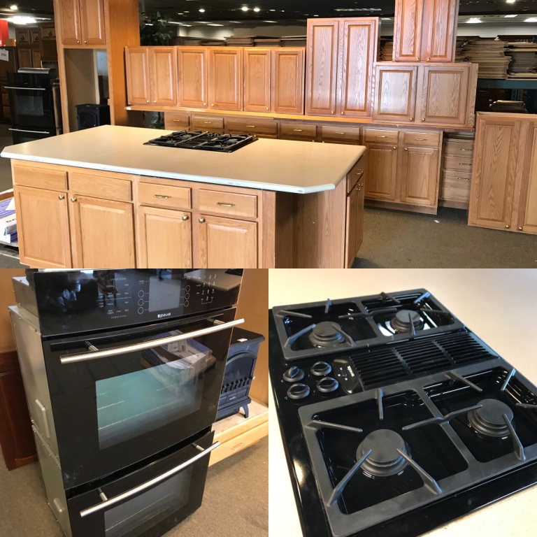 used kitchen cabinets resale kitchen complete 22 piece lightlyused kitchen cabinet set with center island 2016 jennair double oven and drop in gas range 2500 for the whole set beautiful kitchen cabinet set buds warehouse