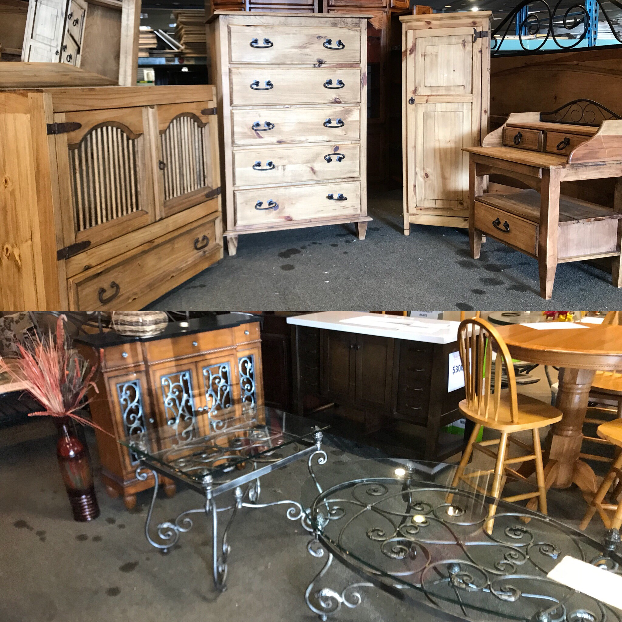 Good Check Out This Beautiful 5 Piece Pine Bedroom Set And These Gorgeous Side  Tables. Our Truck Is Also Bringing Back Other Great Home Improvement Items  Today ...