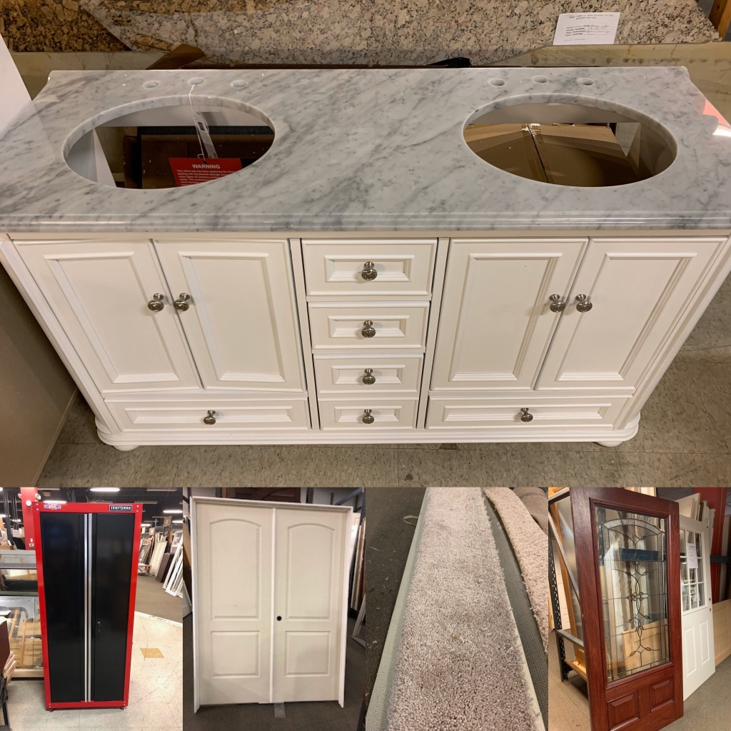 How About A Brand New Discount Double Sink Bathroom Vanity And More Bud S Warehouse